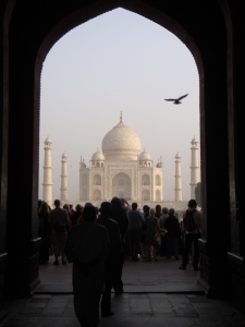 The stunning Taj Mahal - I fell in love with it all over again the second time around